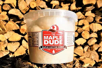 The Maple Dude - Pure Maple Cotton Candy